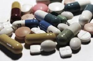 Ett urval av piller och kapslar