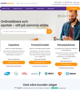 Healthexpress.eu - Utmärkt leverantör av sjukvård och läkemedel med hög klass
